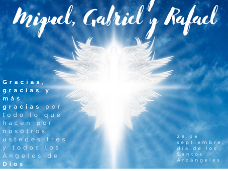 Día de los Santos Arcángeles