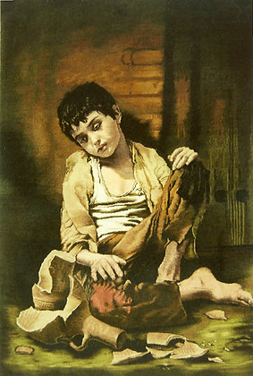 Tabriz Dipinto di Murilio    Dim 90 x60