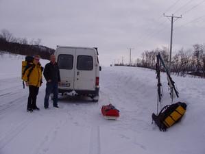 Guy's First Arctic Ski Touring Trip.