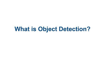 What is object detection?