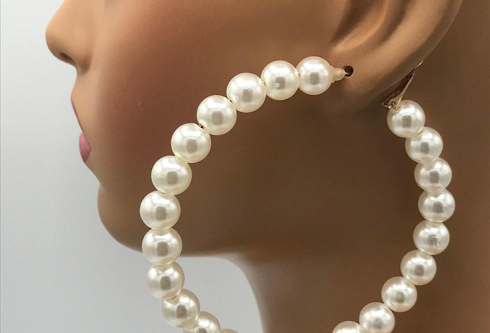 Pearl Hoops