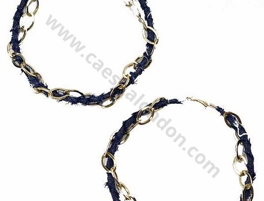 """Better Den Em"" Hoops (Dark Blue)"