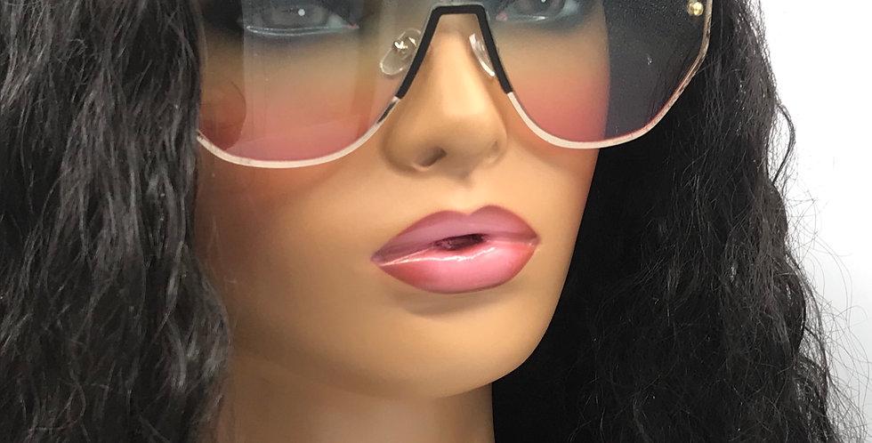 """Self Made"" Sunglasses (Pink/Blue)"