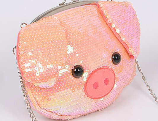 """Piggy Bank"" Clutch Purse"