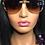 """Thumbnail: """"Jet Setter"""" Sunglasses (Dark Brown)"""