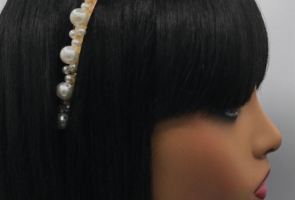 """""""Pearl Laid"""" Headband"""