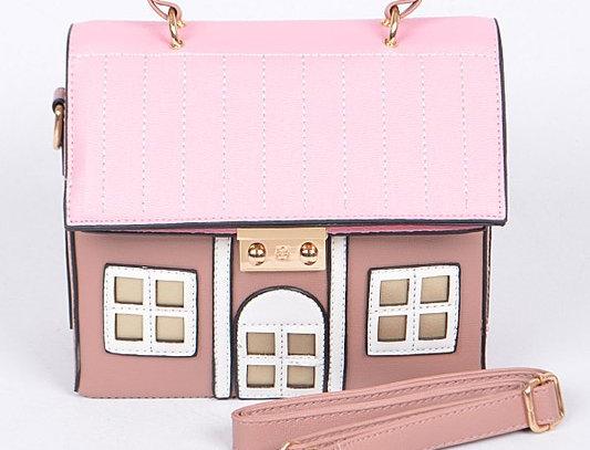 """""""Pink Mansion"""" Handbag"""