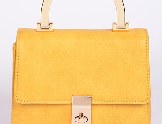 """""""Proper"""" Bag (Mustardl)"""