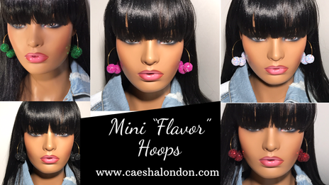 """Mini """"Flavor"""" Hoops Collection"""