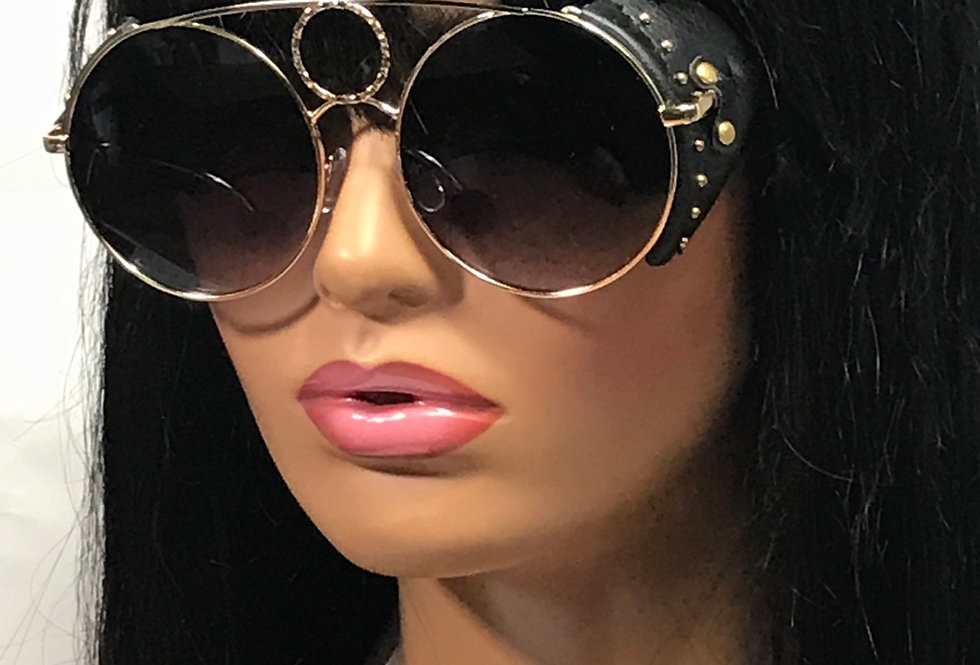 """Direct Deposit"" Sunglasses (Black/BlackTint)"