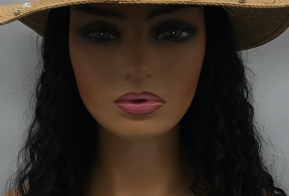 """Who Is She"" Hat (Khaki)"