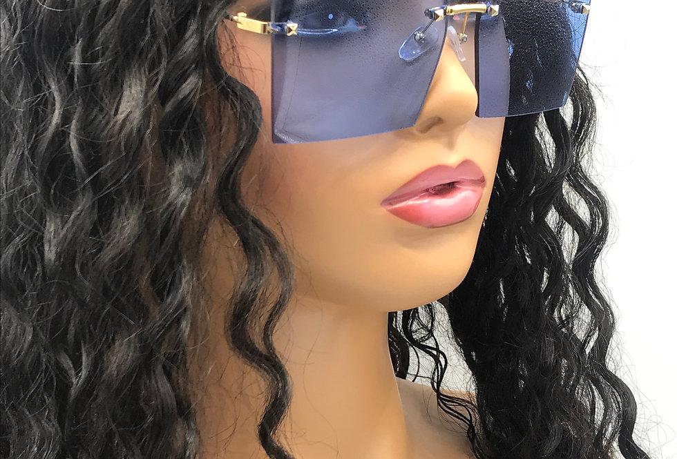 """On Purpose"" Sunglasses (Blue)"