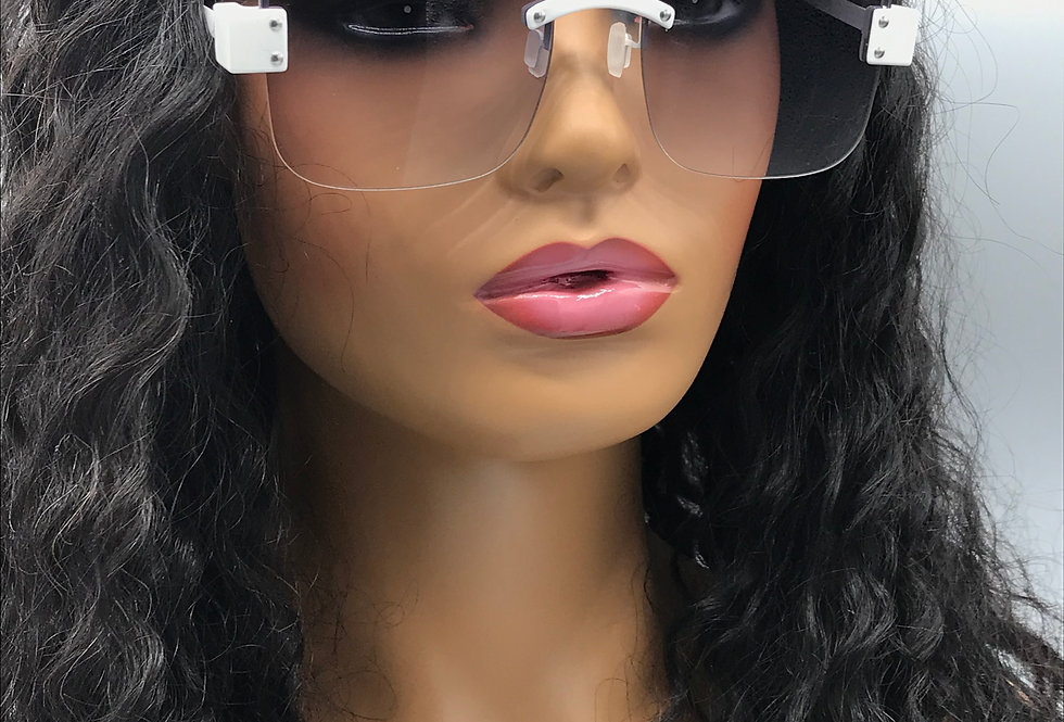 """""""After You"""" Sunglasses (White)"""