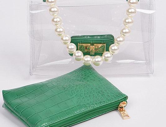 """""""A Little CoCo"""" Handbag (Green)"""