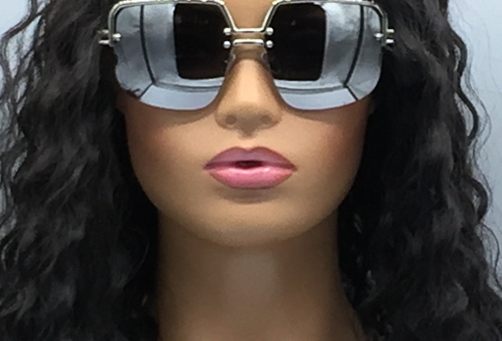 """Spotlight"" Sunglasses (Silver)"