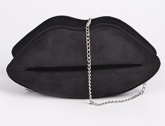 """Pucker Up"" Handbag (Black)"