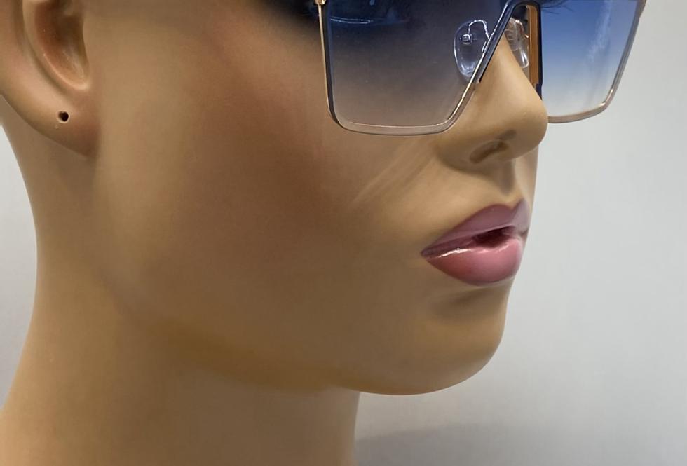 """Cosmopolitan"" Sunglasses (Blue)"