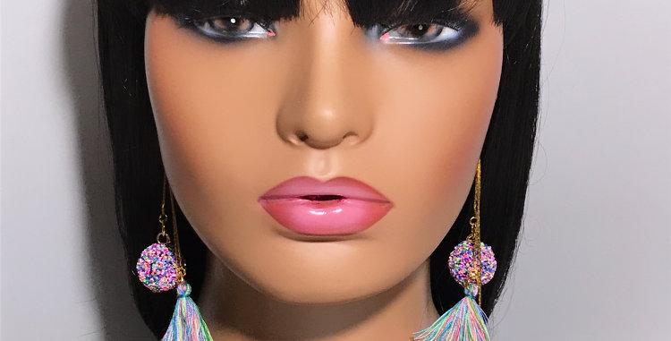 """Pinata"" Dangle Earrings"