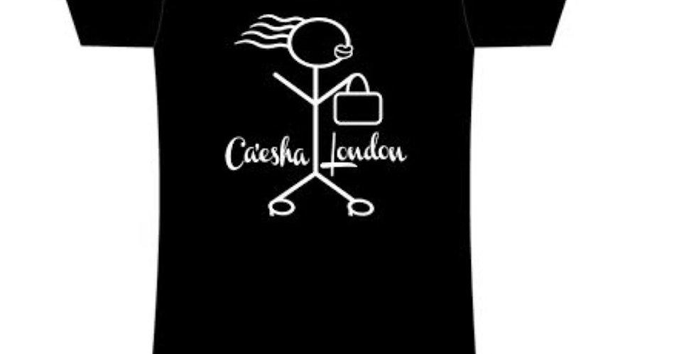 Caesha London Logo Fitted Tee (Women)
