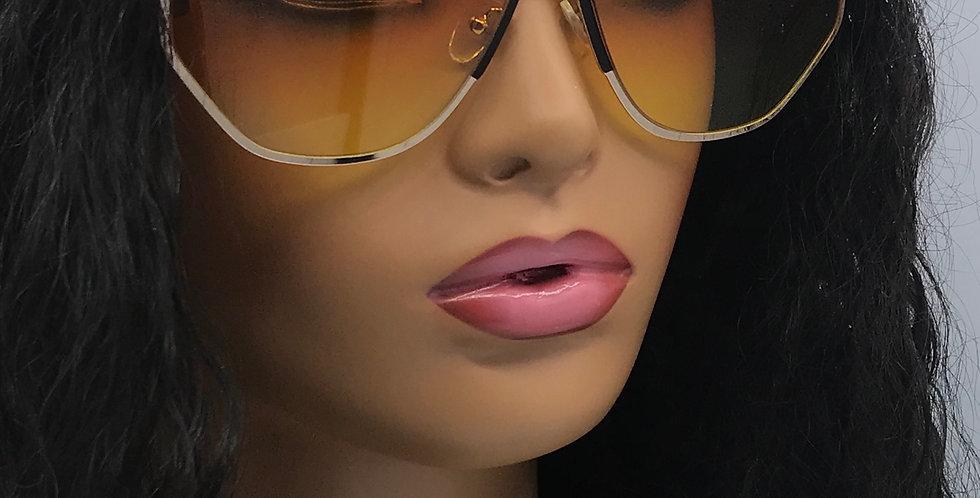"""Self Made"" Sunglasses (Orange/Yellow)"