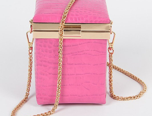"""""""Ottoman"""" Handbag (Pink)"""
