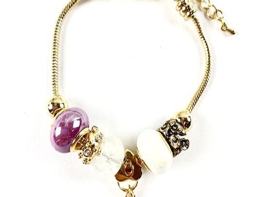 """""""Just Slide"""" Bracelet (Purple)"""