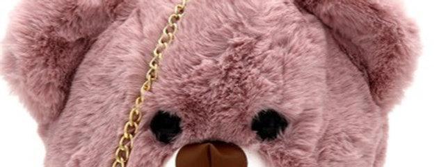 """Mauven"" Bear Bag"
