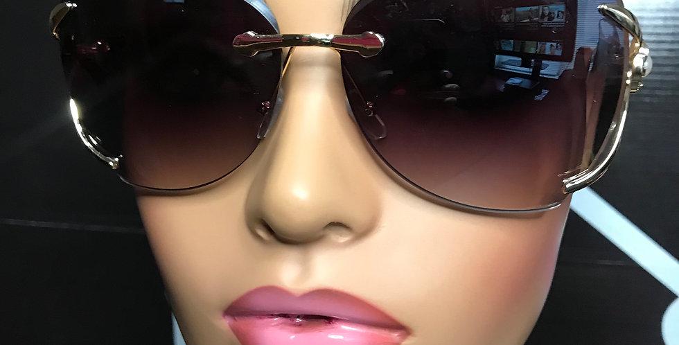 """""""Jet Setter"""" Sunglasses (Black)"""