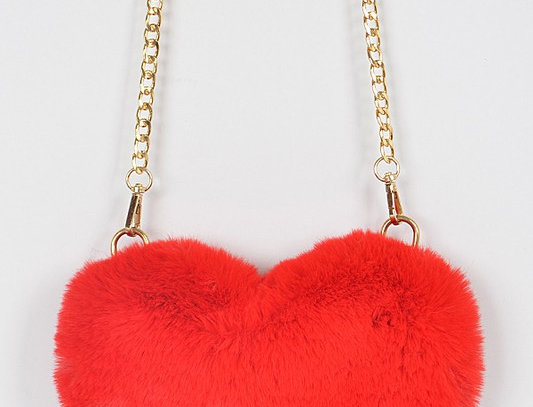 """Warm Hearted"" Purse (Red)"