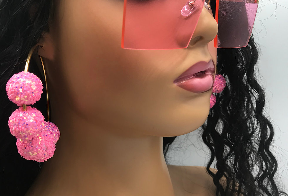 """On Purpose"" Sunglasses (Pink)"