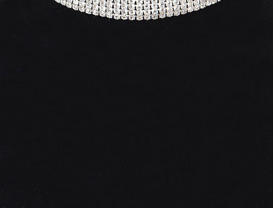 """Sparkling"" Necklace (Silver)"