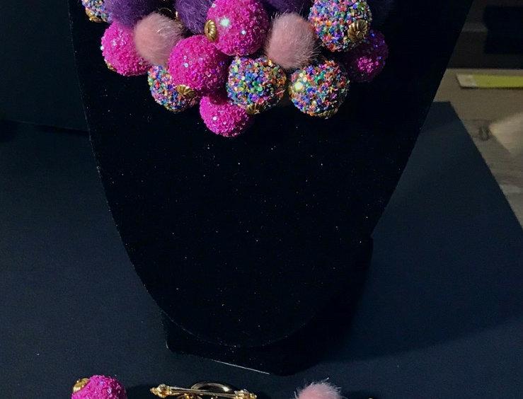 """Sweet Tooth"" Chunky Jewelry Set"
