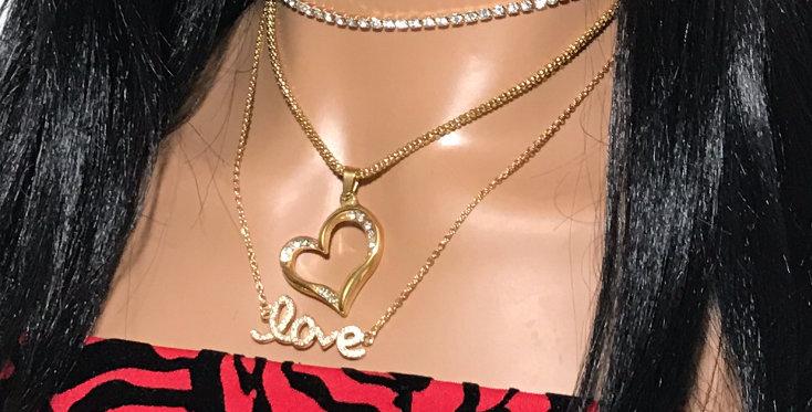 """""""Romance"""" Necklace Set"""