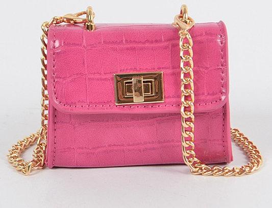 """Don't Touch"" Handbag (Pink)"