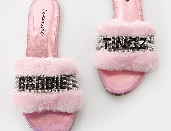 """Barbie Tingz"" Flip Flops"