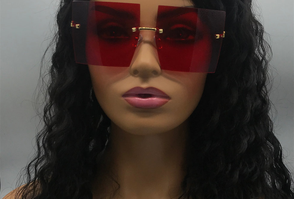 """On Purpose"" Sunglasses (Red)"