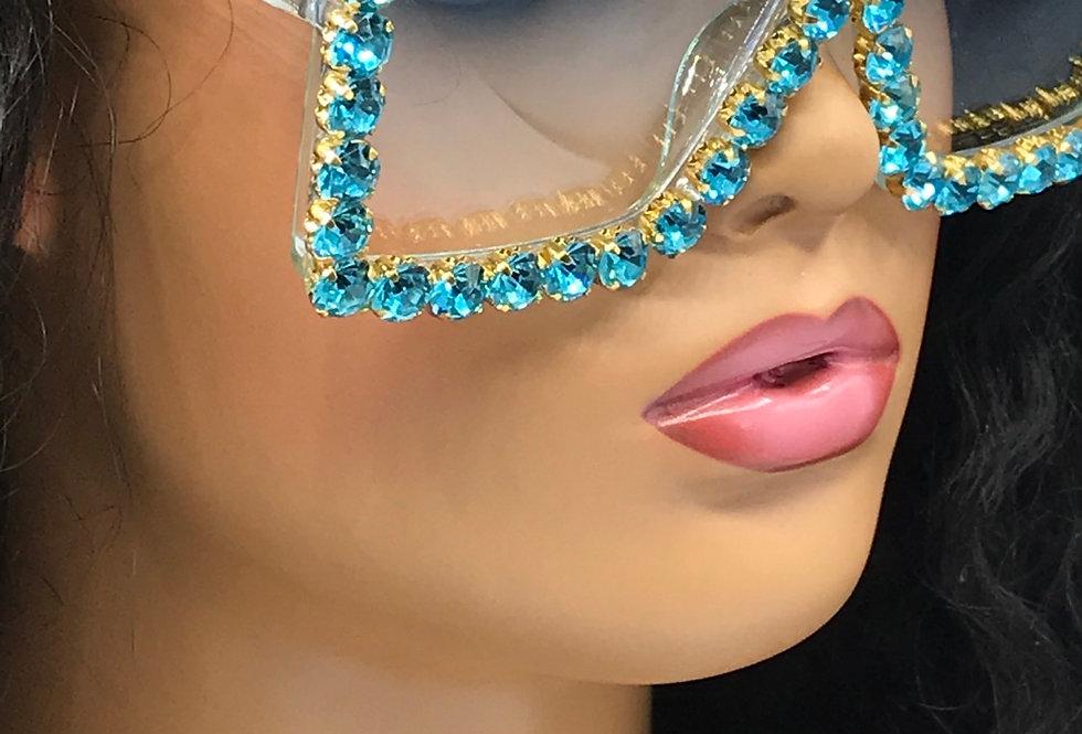 """Intentions"" Sunglasses (Light Blue)"
