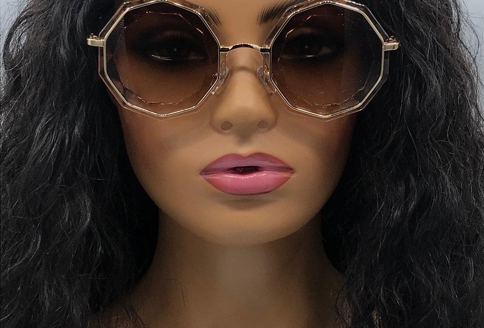 """Guest List"" Sunglasses (Brown)"