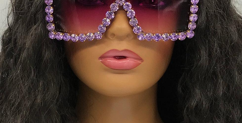 """Intentions"" Sunglasses (Purple)"
