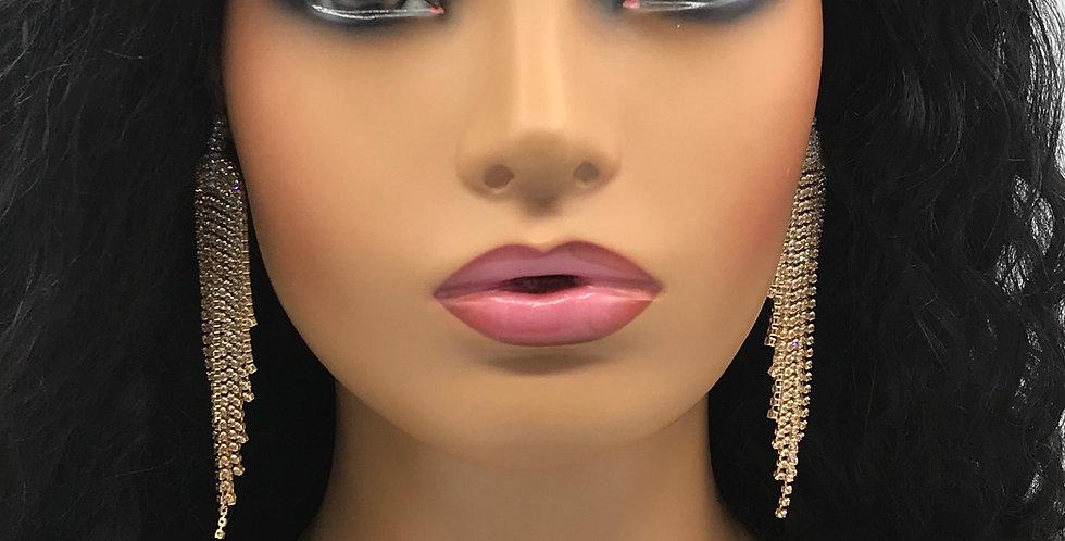 """""""Chandi """" Earrings (Gold)"""