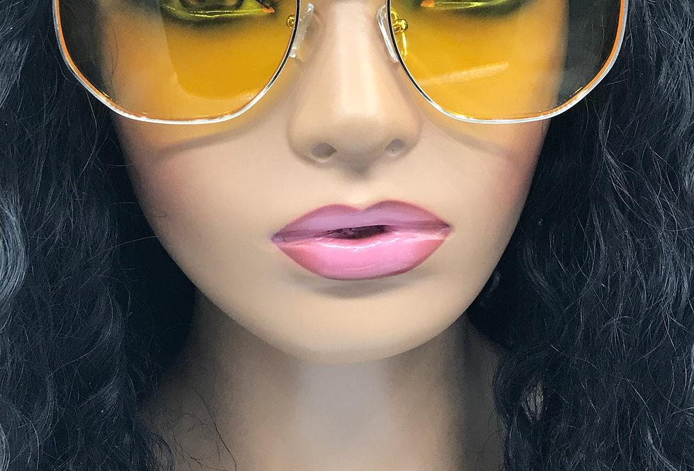"""Extrovert"" Sunglasses (Yellow)"