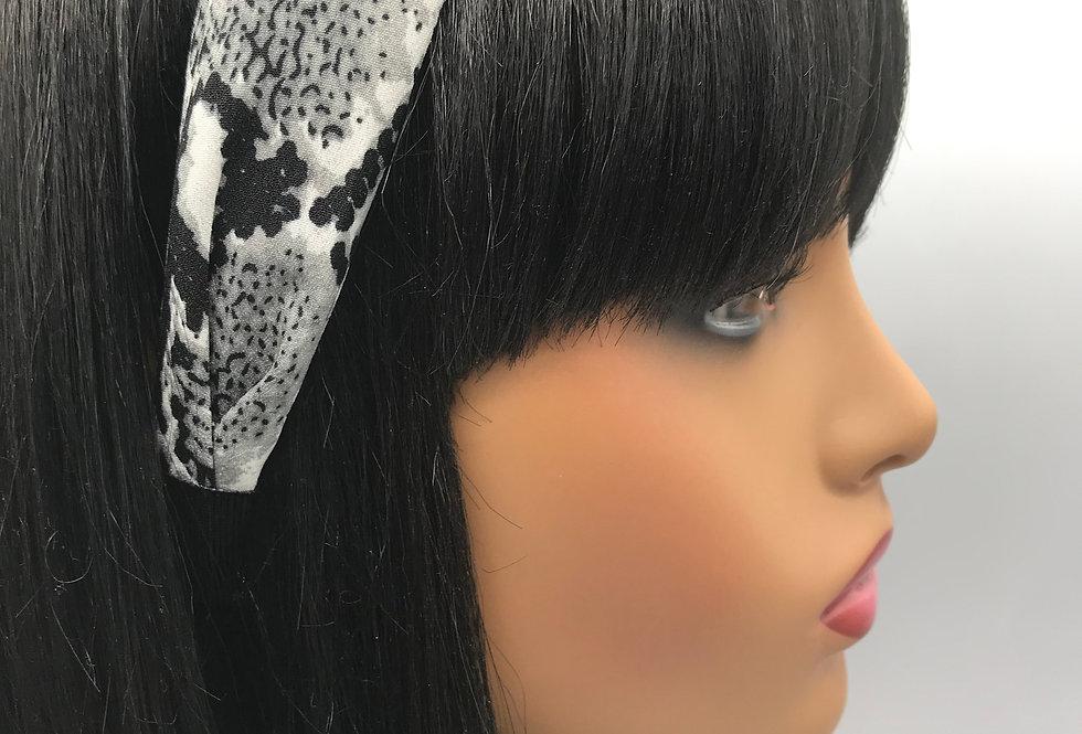 """""""Mono Snake"""" Headband"""
