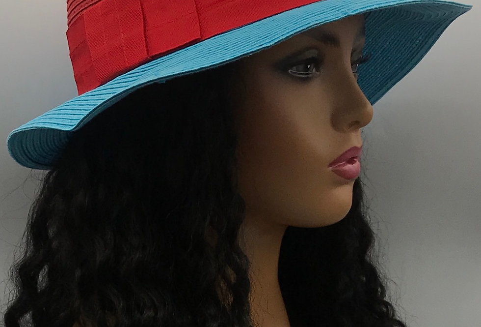 """Popsicle"" Straw Hat"