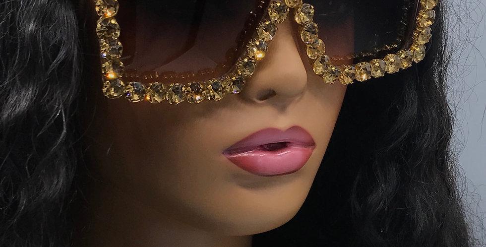 """Intentions"" Sunglasses (Tan)"