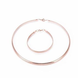 Choker Necklace and Bracelet Set
