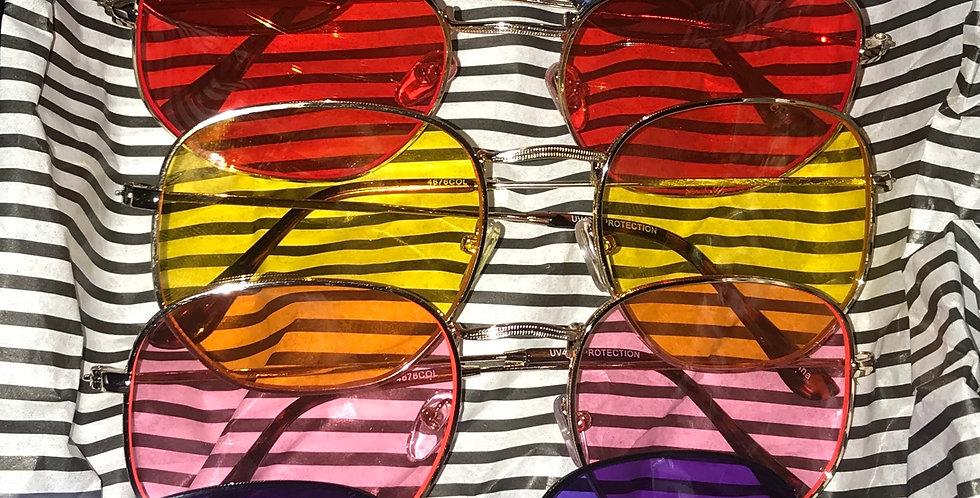"""""""Extrovert"""" Sunglasses (Full Set)"""