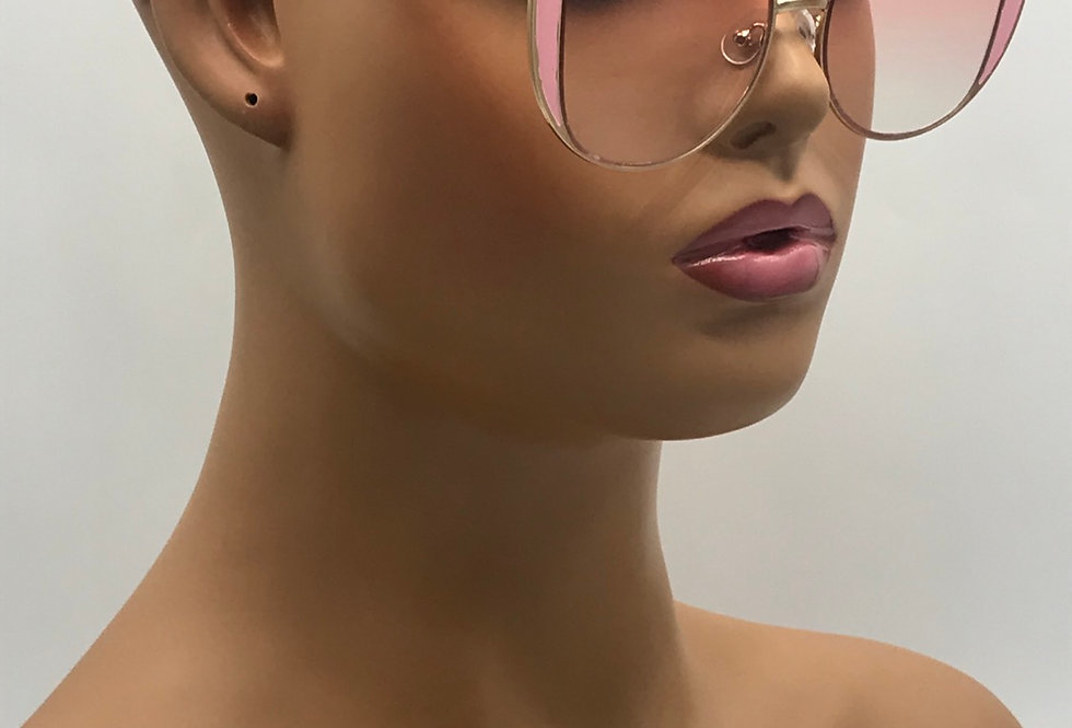 """Press Play"" Sunglasses (Pink)"