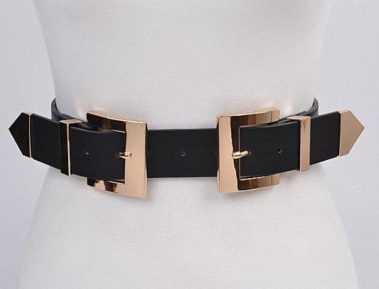 """STRAPPED"" Waist Belt (Black)"