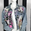 """Thumbnail: """"PERIOD"""" Queen Painted Jacket w/ matching light pink purse"""