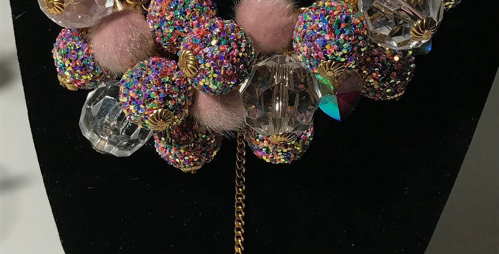 """CRUSH"" Chunky Jewelry Set 4 piece set"